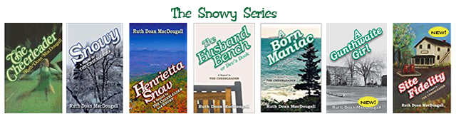 The Snowy Series titles; image