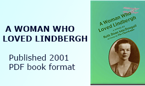 A WOMAN WHO LOVED LINDBERGH, published 2001 in PDF form only
